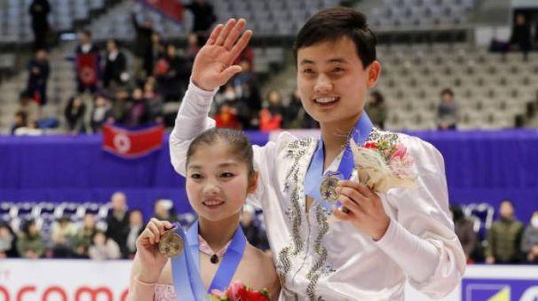 Ryom Tae Ok e Kim Ju Sik
