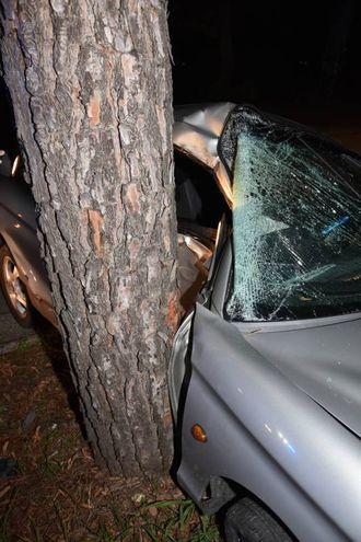 L'incidente è avvenuto intorno a mezzanotte (Fantini)