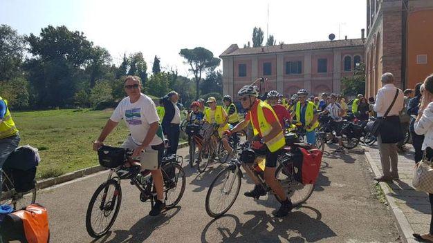 Bicinstaffetta 2017 a San Rossore