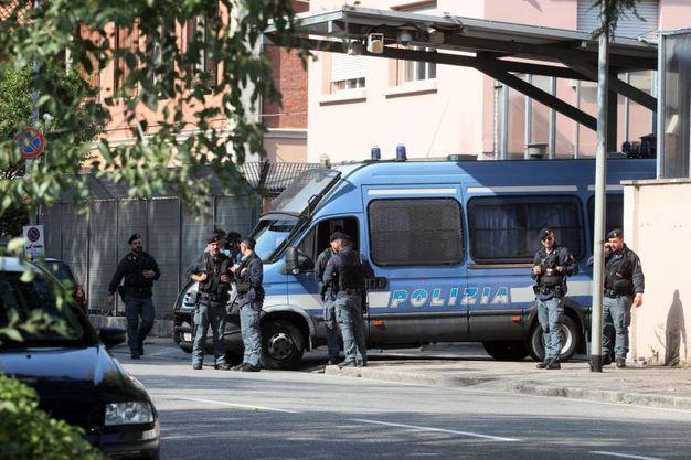 L'Hub di via Mattei è la prima tappa della visita del Papa (foto Schicchi)