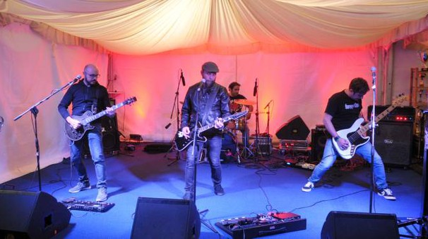 Meta Rock Contest, uno dei gruppi durante l'esibizione