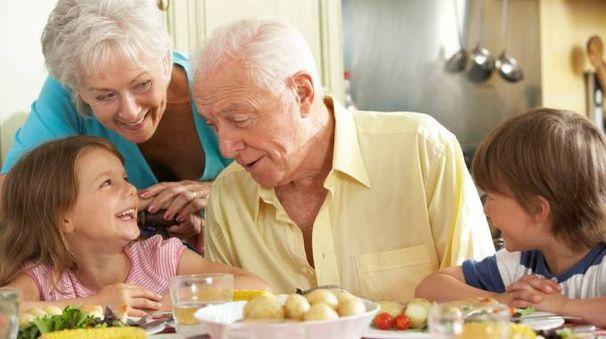 I nonni, maestri in cucina