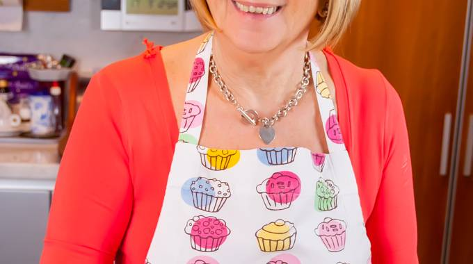 Anna Moroni in cucina