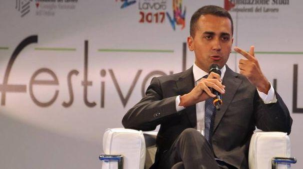 Luigi Di Maio, candidato premier del Movimento 5 Stelle (Ansa)