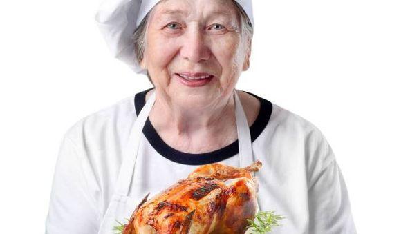 Nonne super in cucina