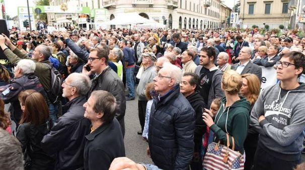 Spettatori durante una precedente edizione della Tre Valli