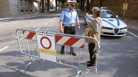 Preparativi per la visita di Papa Francesco a Cesena (Ravaglia)