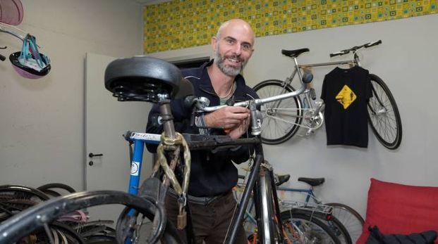 Riccardo Bosi, responsabile del laboratorio