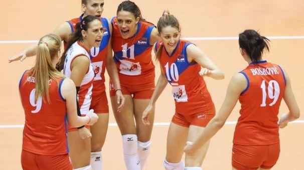 La gioia delle serbe