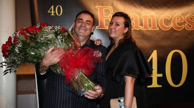 Francesca e Giovanni Allegri (foto Umberto Visintin / NewPressPhoto)