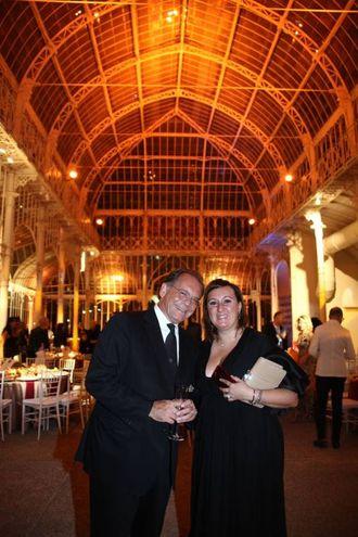 Alessandro Cecchi Paone con Francesca Allegri (Foto Umberto Visintini/New Press Photo)