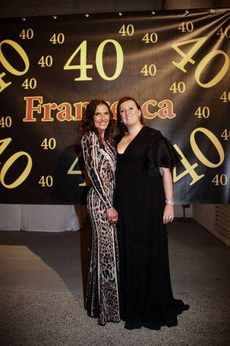 Valentina Gialdi con Francesca Allegri (Foto Umberto Visintini/New Press Photo)