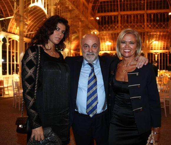 Graziano Cioni con Asma Ifha e Annalisa Parenti (Foto Umberto Visintini/New Press Photo)