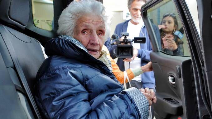 Giuseppina Fattori, la nonna sfrattata dalla casetta post terremoto (Calavita)