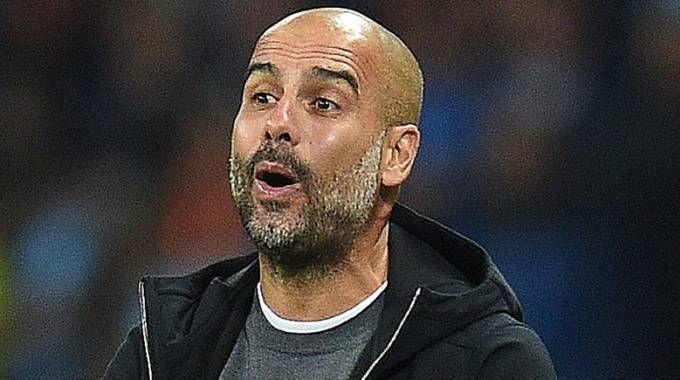 """L'allenatore del Manchester City Pep Guardiola, catalano: """"Il referendum è legale"""" (Afp)"""