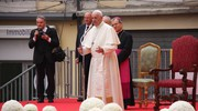 Il giorno di Papa Francesco a Cesena è arrivato (Foto Ravaglia)