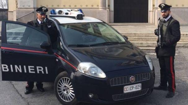 I carabinieri intervenuti