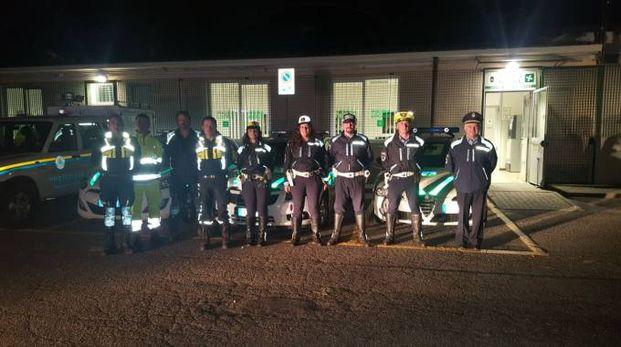 L'Unione di polizia locale Nord Lodigiano e la protezione civile Nord Lodigiano