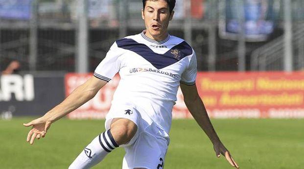 """Dimitri Bisoli nei 19' giocati al """"Liberati"""" è andato due volte vicino al gol"""