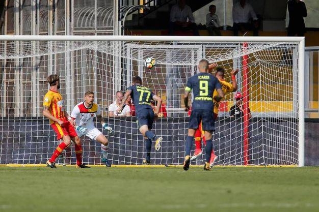 Il primo gol di Brozovic (Ansa)
