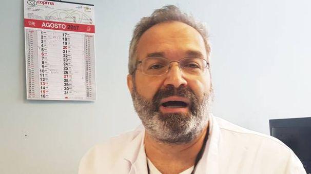 Francesco Scorzelli è caposala del Pronto soccorso