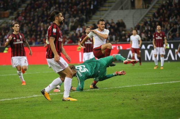 Il gol di Florenzi (Lapresse)