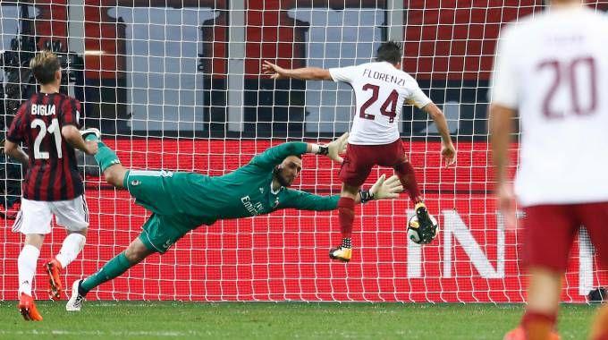 ll gol di Florenzi (Lapresse)