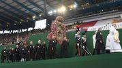 L'arrivo della Madonna di San Luca allo stadio (Schicchi)