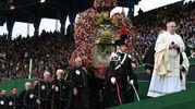 La Madonna di San Luca è scesa dal Colle della Guardia per l'occasione (Schicchi)