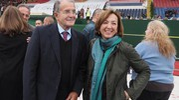 Alla messa anche Romano Prodi e Sandra Zampa (Schicchi)