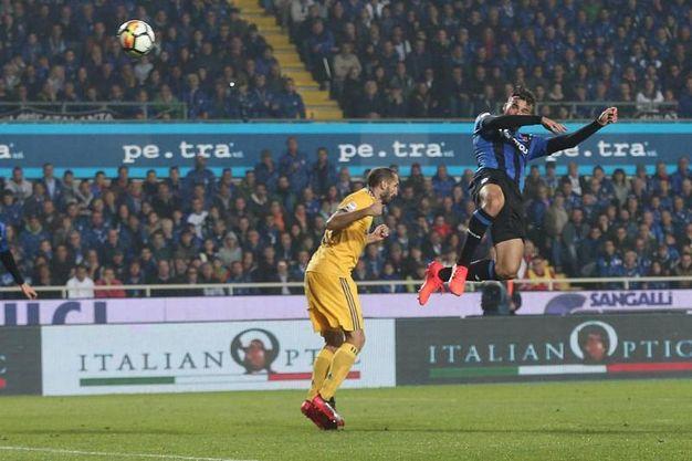 Il gol di Cristante dell'Atalanta 2-2 (Ansa)