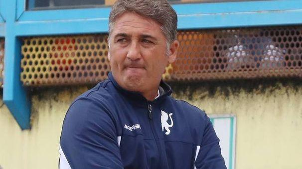 Roberto Boscaglia, allenatore del Brescia (Fotolive)
