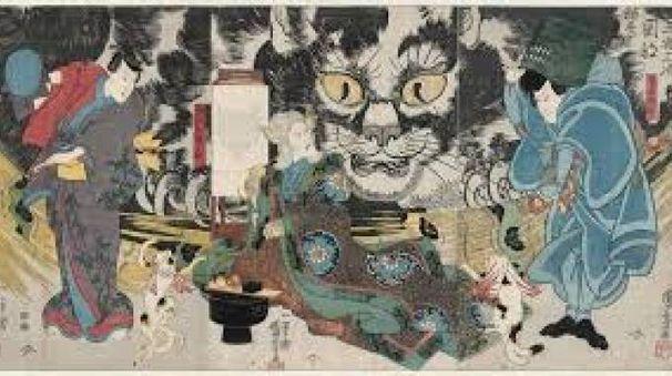 Un'opera di Ugakawa Kuniyoshi