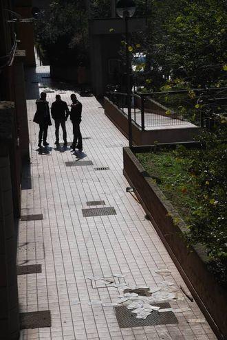 L'aggressione è avvenuta nel cortile del palazzo Acer (Schicchi)