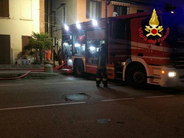 Pantigliate, incendio in un cascinale
