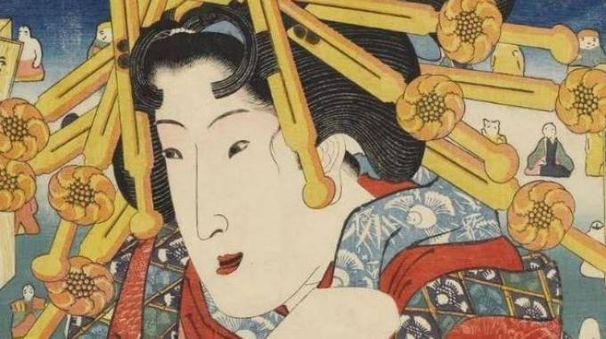 Un'opera dell'artista giapponese