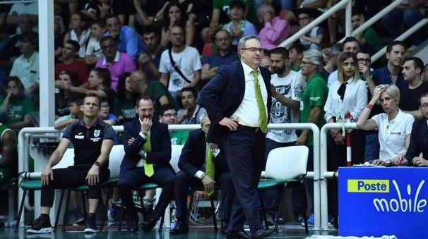Il coach di Avellino sacripanti (LaPresse)