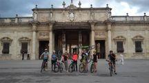 Foto di gruppo alle Terme Tettuccio di Montecatini