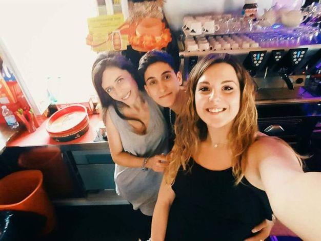 Serena Saccà, Mariangela Salvati e Anna Campagna (Donna di cuori, Cecina Mare)
