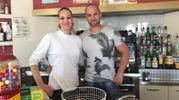 Samantha Salvini e Franz Zanlorenzi (New Pick Bar, viale Italia)
