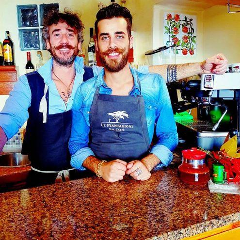 Francesco Poloni e Antonino Pastorello (Bistrot Melo&Grano, San Vincenzo)