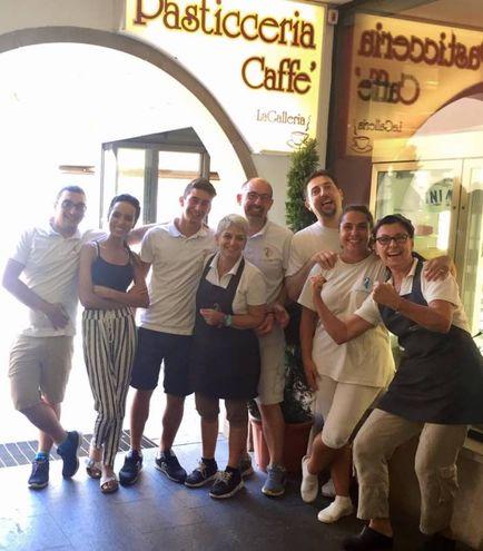 Che grinta la squadra del Bar La Galleria, San Vincenzo