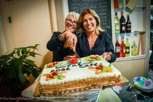 Federica Ferroni ed Enza Cacio (The Rose, via dei Carabinieri)