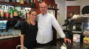 Brunilde Cela ed Enrico Tognetti (Caffetteria Cavallotti, via Di Franco)