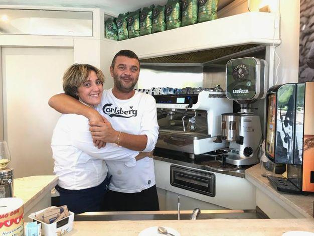 Paola Vannini e Stefano Seradimigni (Coffee Time, viale Italia)
