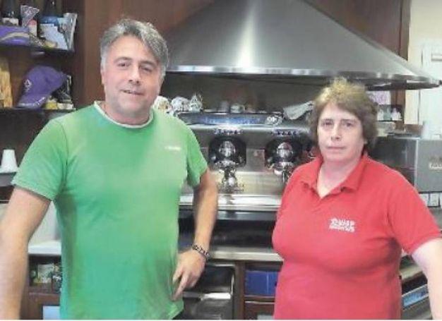 Lorenzo e Daniela Spagnoli (Bar Stella, Piombino)