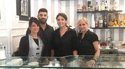 Andrea, Ingrid, Cecilia e Federica (Bar Cairoli, via Cairoli)