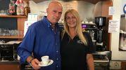 Stefano Falleni e Letizia Zucchelli (Bar Montegrappa, via Fiume)