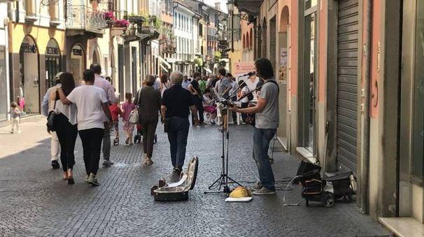 Musicante in strada