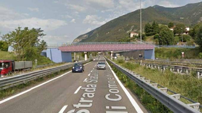 Il rendering del nuovo ponte di Isella